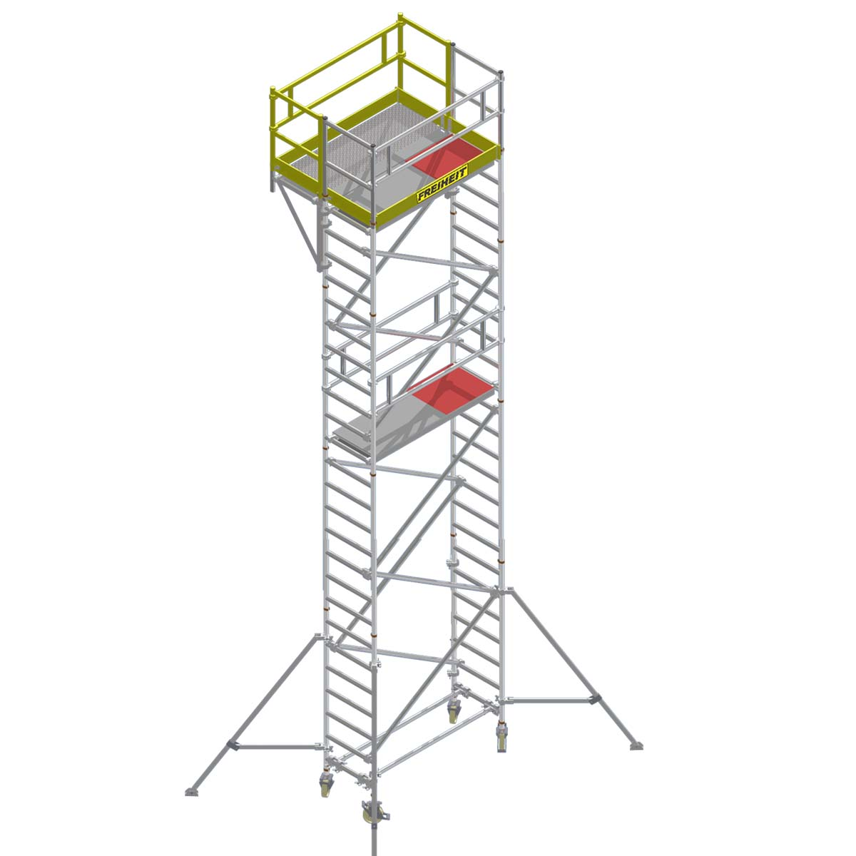 aluminium mobile scaffold towers   mobile scaffold tower with cantilever platform