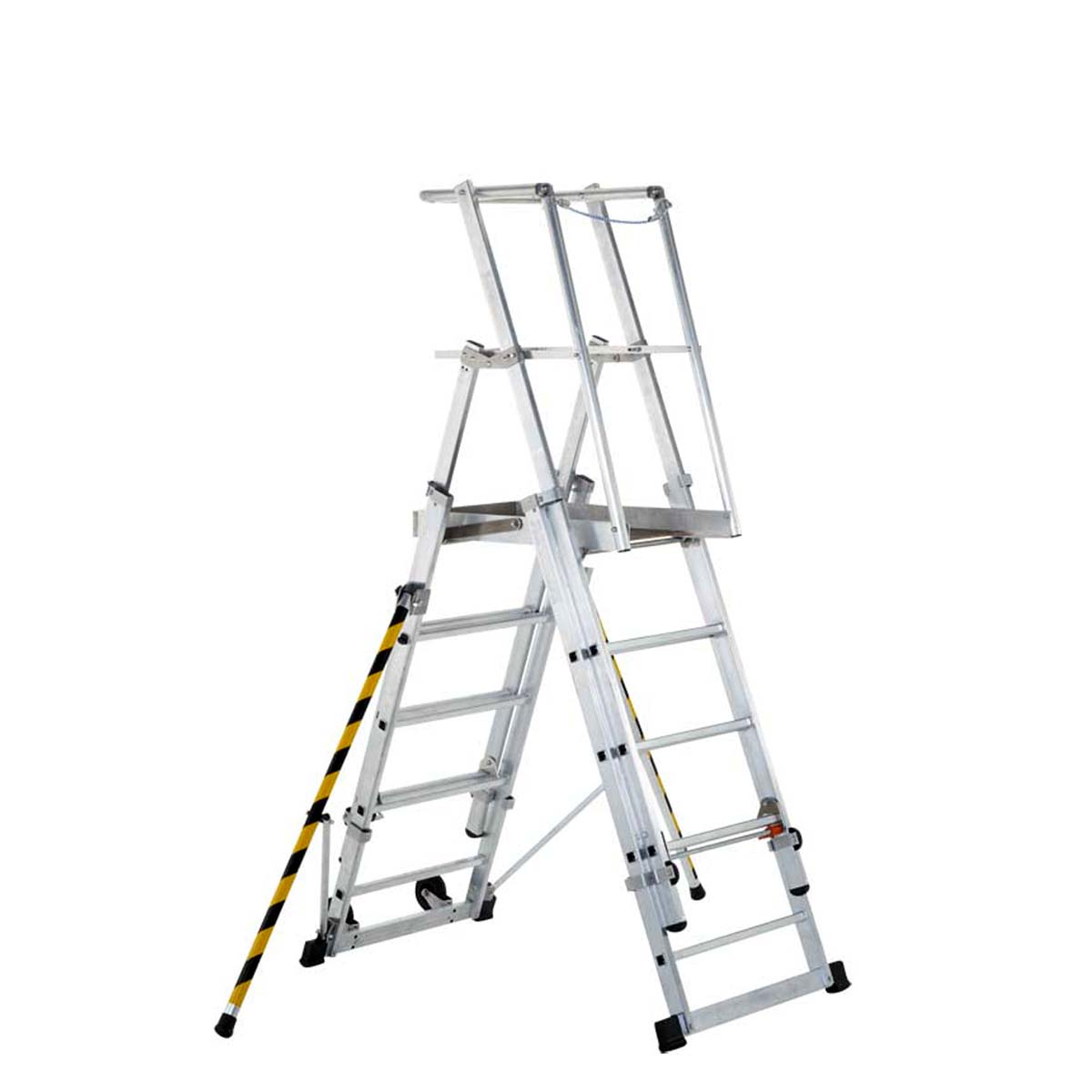 Mobile Work Platforms Telescopic Platform Ladder